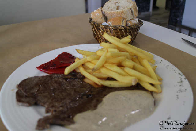Plato menu XXL en The Park Cofee & Bar Maliaño