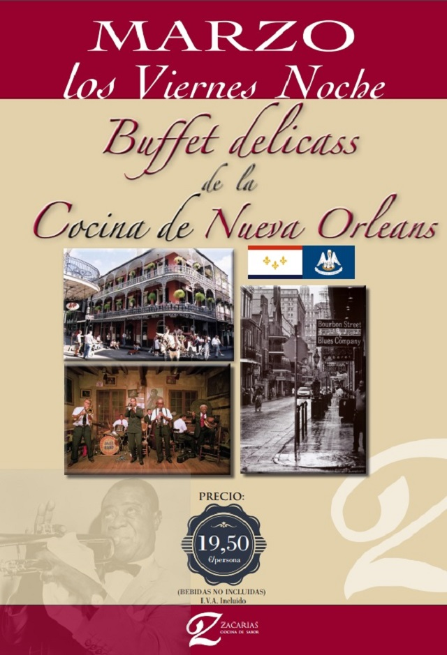 buffet cocina new orleans