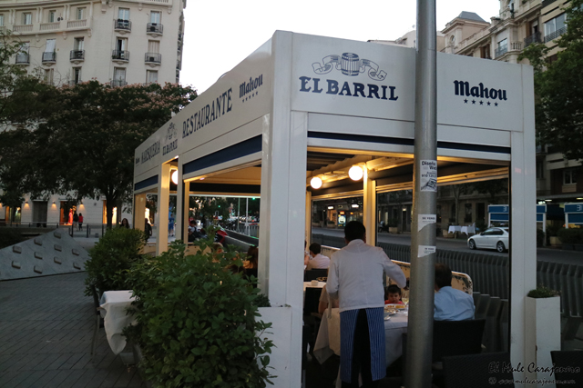 Restaurante el Barril Madrid